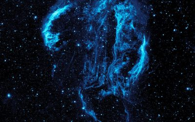 Туманность By NASA/JPL-Caltech [Public domain], via Wikimedia Commons https://commons.wikimedia.org/wiki/File%3AUltraviolet_image_of_the_Cygnus_Loop_Nebula_crop.jpg